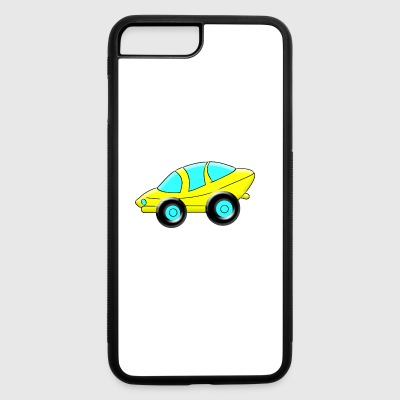 cartoon Sporty Car - iPhone 7 Plus/8 Plus Rubber Case