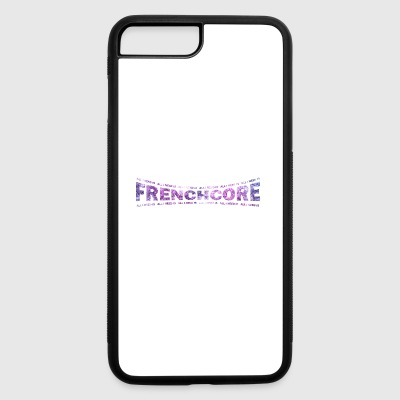 LOVE TECHNO GESCHENK goa pbm FRENCHCORE goa - iPhone 7 Plus/8 Plus Rubber Case