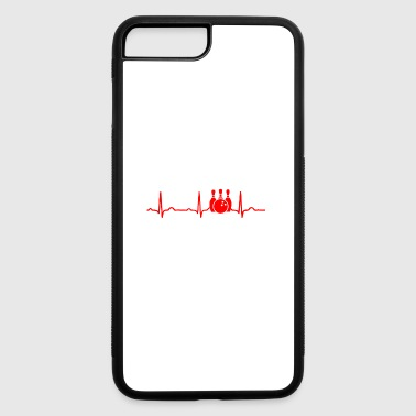 GIFT - ECG BOWLING RED - iPhone 7 Plus/8 Plus Rubber Case