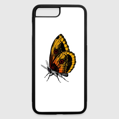 Yellow Butterfly - iPhone 7 Plus/8 Plus Rubber Case