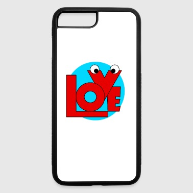 Love,february and valentine. - iPhone 7 Plus/8 Plus Rubber Case