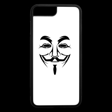 Guy Fawkes Anonymous - iPhone 7 Plus/8 Plus Rubber Case