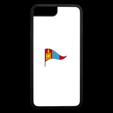 Mongolia China Russia Flags Banner Ensigns Nomadic - iPhone 7 Plus/8 Plus Rubber Case