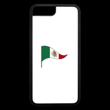 Mexico Mexico City America Latino Flags Banner - iPhone 7 Plus/8 Plus Rubber Case