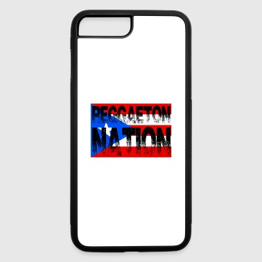 Reggaeton Nation Puerto Rico Flag - iPhone 7 Plus/8 Plus Rubber Case