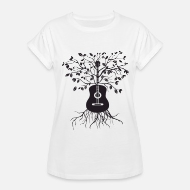 acoustic guitar tree electric bass amp strings gui women 39 s organic t shirt spreadshirt. Black Bedroom Furniture Sets. Home Design Ideas