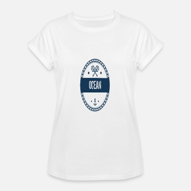Ocean Quotes Ocean - Women's Relaxed Fit T-Shirt