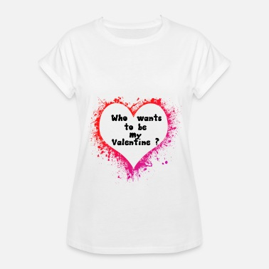 Valentine Sweetheart Valentine Heart Love Sweetheart - Women's Relaxed Fit T-Shirt