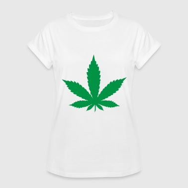 Weed-leaf Weed Leaf - Women's Relaxed Fit T-Shirt
