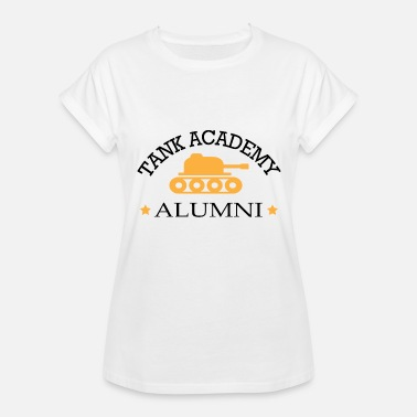 Porn Tank Gamer - Tank academy alumni - Women's Relaxed Fit T-Shirt