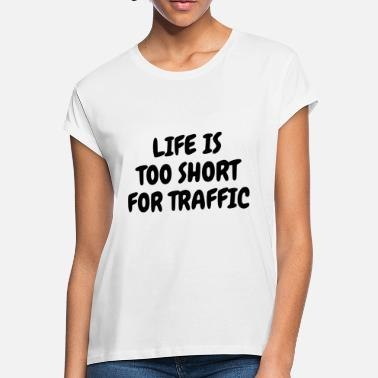 Traffic TRAFFIC - Women's Loose Fit T-Shirt