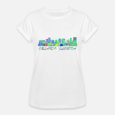 Orlando Florida Orlando Orlando Florida - Women's Relaxed Fit T-Shirt
