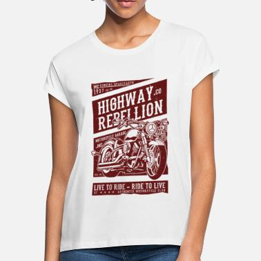 Motorcycle Classic Motorcycle - Women's Loose Fit T-Shirt