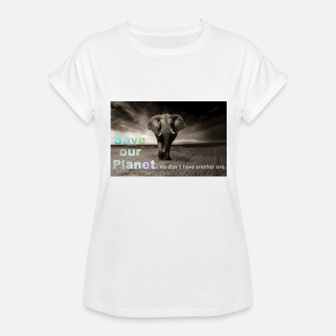 Save Our Planet save our planet - save the elephant - Women's Relaxed Fit T-Shirt