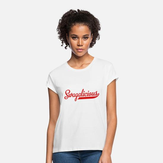 Geek T-Shirts - 2541614 15757968 swagalicious - Women's Loose Fit T-Shirt white