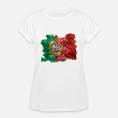 Portugal Flag Portugal Vintage Flag - Women's Relaxed Fit T-Shirt