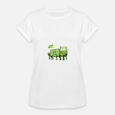 Back In My Day Back in my day - Women's Relaxed Fit T-Shirt