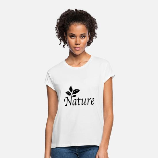 Lover T-Shirts - Nature - Women's Loose Fit T-Shirt white
