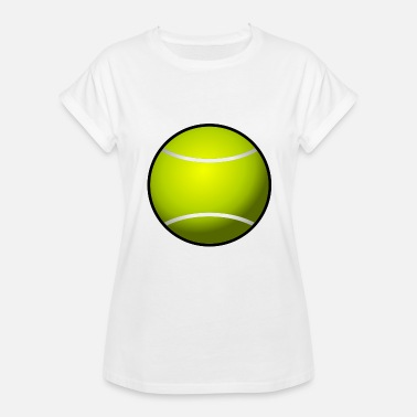 Grand Slam Wimbledon tennis ball court sports bat player spieler squash - Women's Relaxed Fit T-Shirt