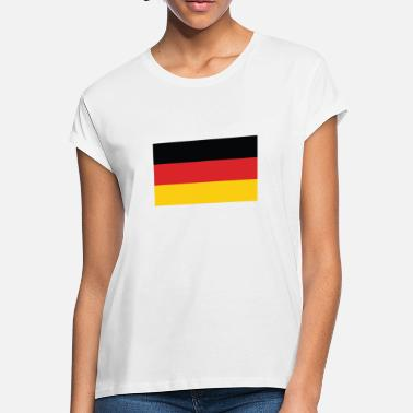 Flag Of Germany Flag of Germany Cool German Flag - Women's Loose Fit T-Shirt