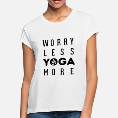 No Worries Symbol worry less - Women's Loose Fit T-Shirt