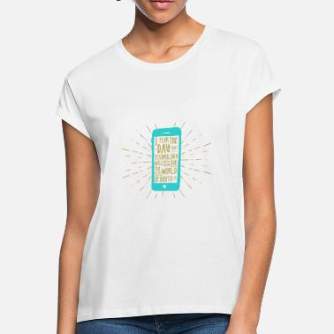 Mobile Phone Generation mobile phone - Women's Loose Fit T-Shirt