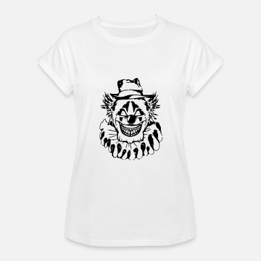Gangster Clown Scary Halloween Clown - Women's Relaxed Fit T-Shirt
