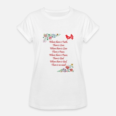 Blessed Home Hungarian Home Blessing in English - Women's Relaxed Fit T-Shirt