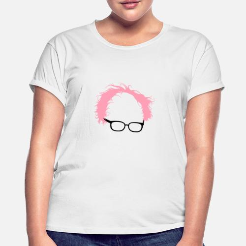 5741f6aa39b204 Bernie Sanders Hair - Women s Loose Fit T-Shirt. Back. Back. Design. Front.  Front