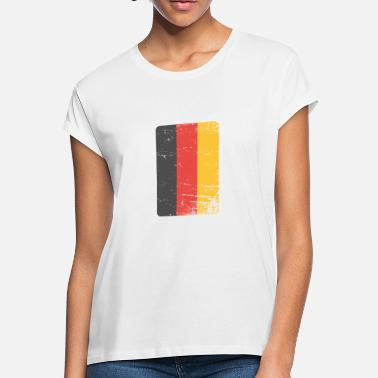 Germany Germany. Germany flag. Love Germany. - Women's Loose Fit T-Shirt