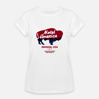 Motel America Motel Of America - Women's Relaxed Fit T-Shirt