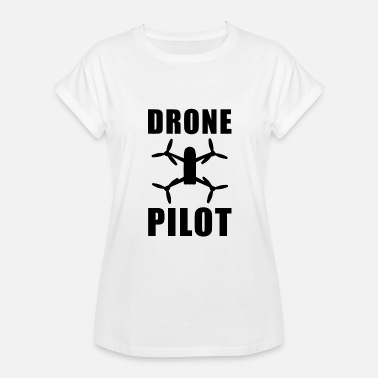 Pilot Costume Drone Pilot driver costume - Women's Relaxed Fit T-Shirt
