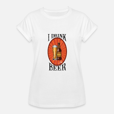 Beer Drinkers Beer Drinker - Women's Relaxed Fit T-Shirt