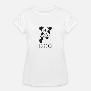 Fighting Dogs No fighting dog just a dog - Women's Relaxed Fit T-Shirt