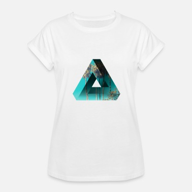 Aerial Art Design Penrose and Palms - Women's Relaxed Fit T-Shirt