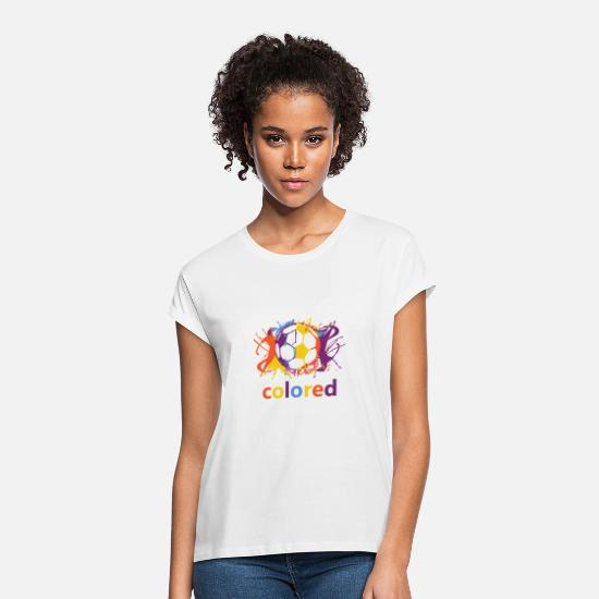 Ball T-Shirts - colored - Women's Loose Fit T-Shirt white