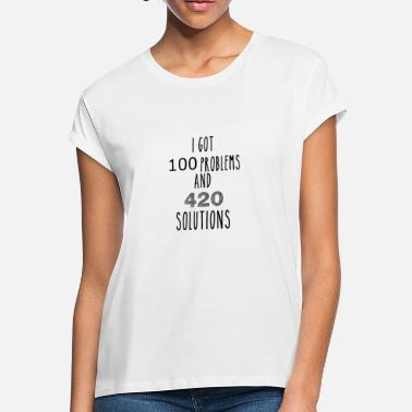 Blazed 420 solutions I pot I cannabis I weed I gift - Women's Loose Fit T-Shirt
