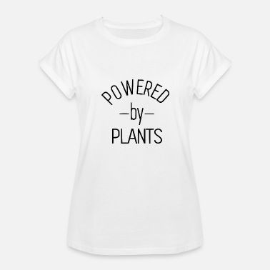 Vegan Power POWERED BY - Women's Relaxed Fit T-Shirt