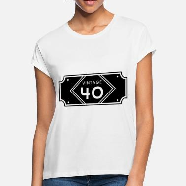 6fa4a09d8 40th Birthday Party 40th birthday - Women's Loose Fit T-Shirt