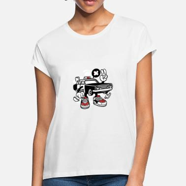 Police Cars Police Car - Women's Loose Fit T-Shirt