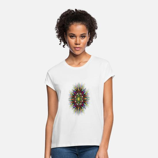 Coloring T-Shirts - colorful - Women's Loose Fit T-Shirt white