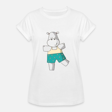 Cute Hippo Cute Hippo - Women's Relaxed Fit T-Shirt