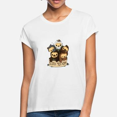 Motion SLOTH MOTION - Women's Loose Fit T-Shirt