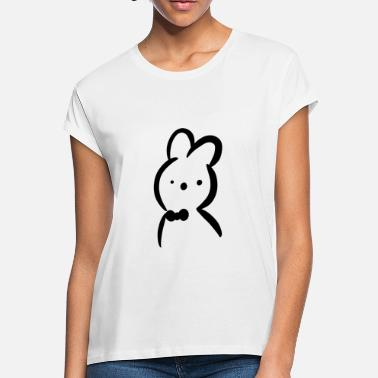 Bowties Bowtie Bunny - Women's Loose Fit T-Shirt