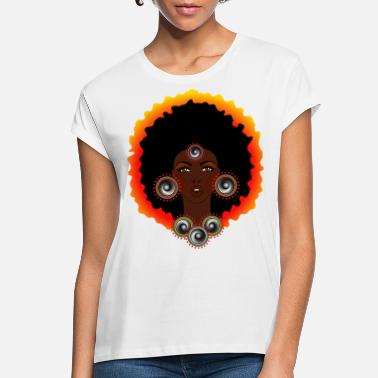 Spreadmusic2015 AFROCENTRIC WOMAN OF MUSIC GRAPHIC TEE - Women's Loose Fit T-Shirt