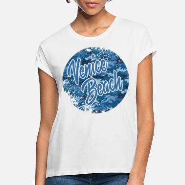 Beach Venice Beach Camouflage - Women's Loose Fit T-Shirt