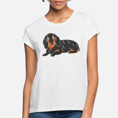 Dachshund Dackel Dachshund Dackel Teckel - Women's Loose Fit T-Shirt