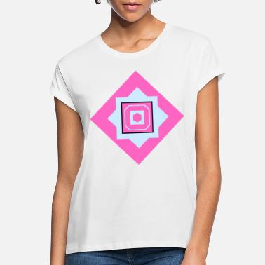 Quadrat Squares Quadrats - Women's Loose Fit T-Shirt