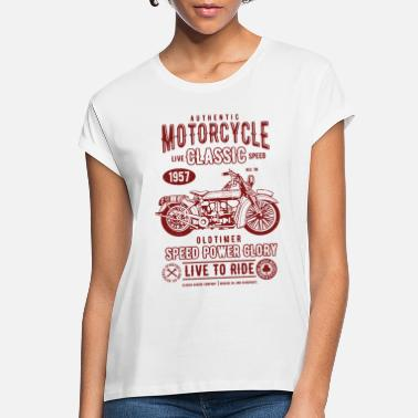 Oldtimer Motorcycle Classic Oldtimer - Women's Loose Fit T-Shirt