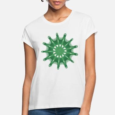 green steering wheel green starfish 9376alg - Women's Loose Fit T-Shirt